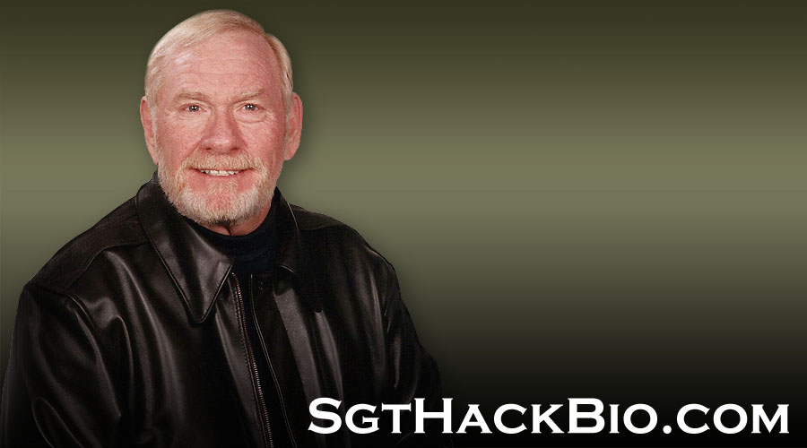 Sergeant David Hack Biography Header